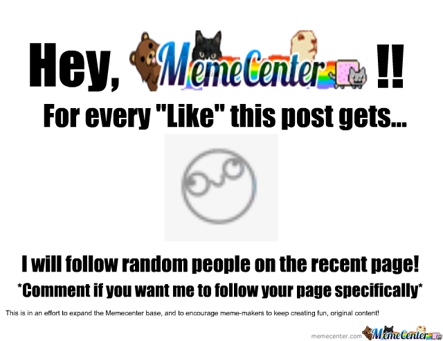 Help Make Memecenter A Better Place!