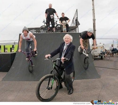 Here Is The President Of Ireland (71Y/o) Looking Like A Badass