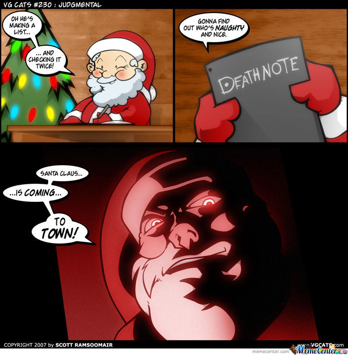 He's Making A List ♫