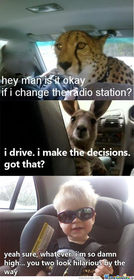Hey Man , Is It Okay If I Change The Radio Station