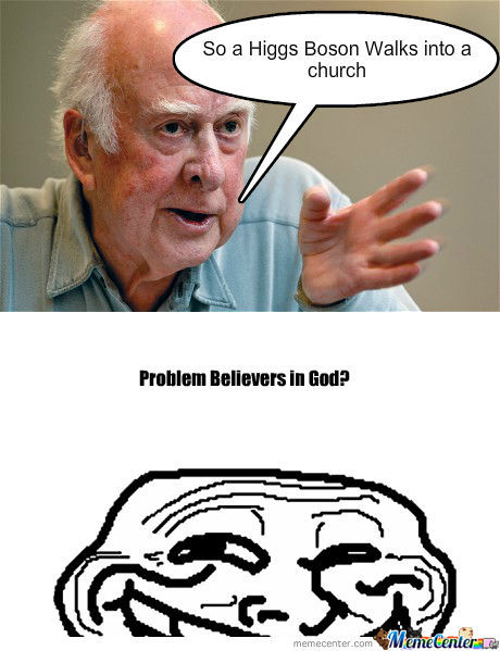 Higgs Boson Discovered, God Disproven