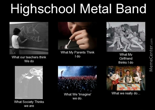 Highschool Metal Band
