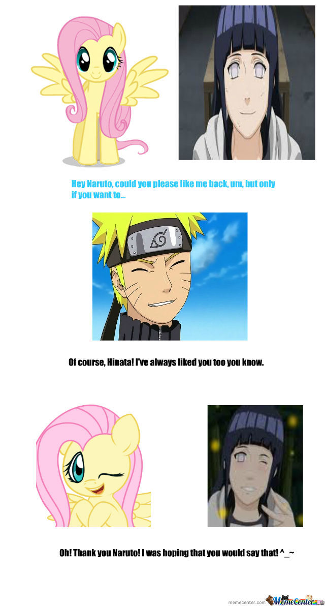 Hinata Is Fluttershy