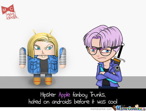 Hipster Apple Fanboy Trunks..