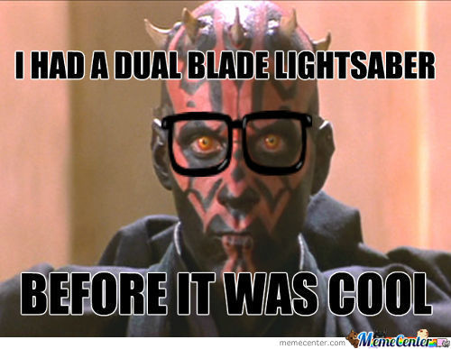 Hipster Darth Maul