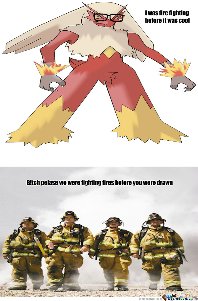 Hipster Fire Fighters