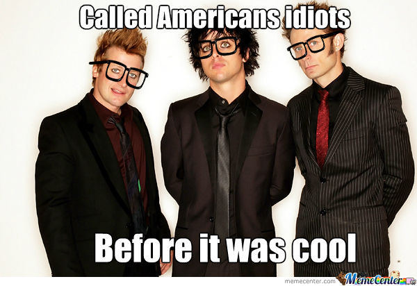 Hipster Green Day