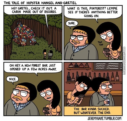 Hipster Hansel And Gretel