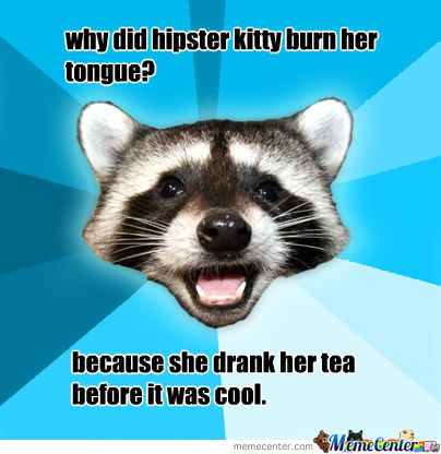Hipster Kitties Tea
