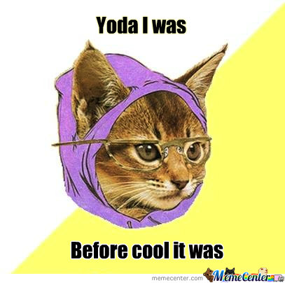 Hipster Kitty Has Done Everything