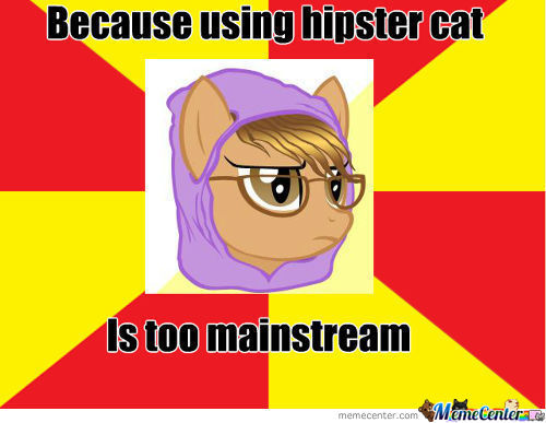 Hipster Pony