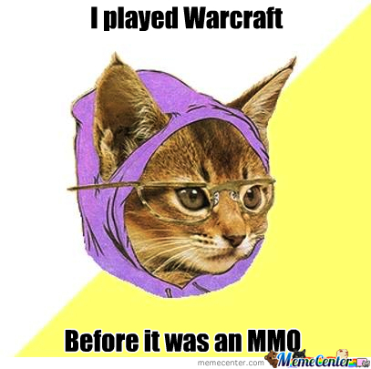 Hipster Warcraft Kitty