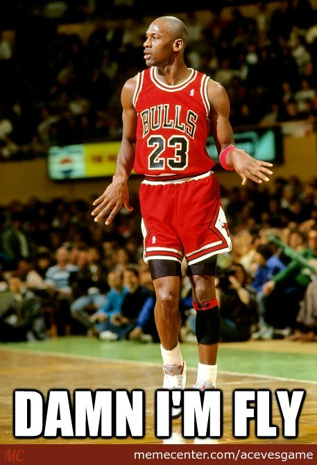 His Airness Michael Jordan