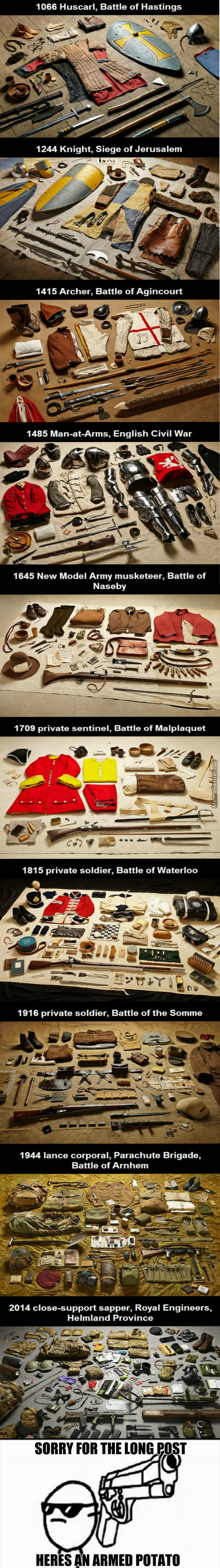 Historical Military And Equipment Uniforms From The Last 1,000 Years