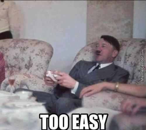 Hitler After Brazil And Germany Football Match !