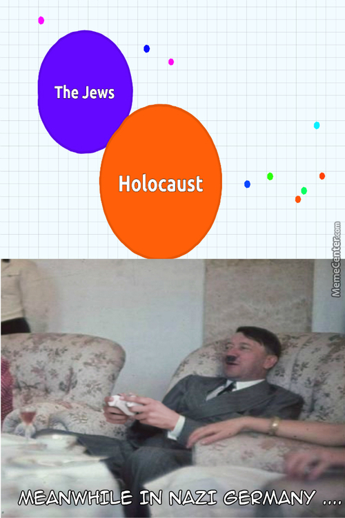 """Hitler Be Like """"it's Just Between Jew And Me Now Baby"""" And Then He Score 6.000.000 Points"""