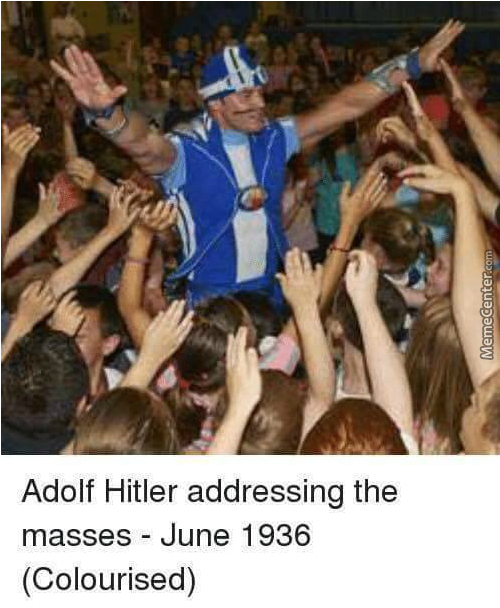 Hitler Is Number One!