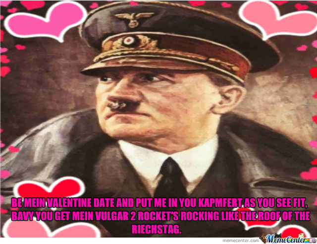 Hitler Showing Love.