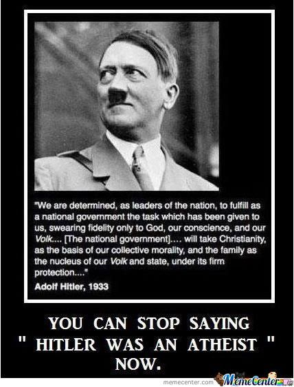 Hitler Was Christian