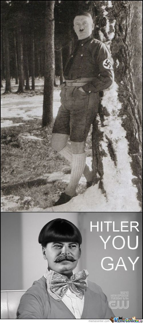 Hitler You Gay