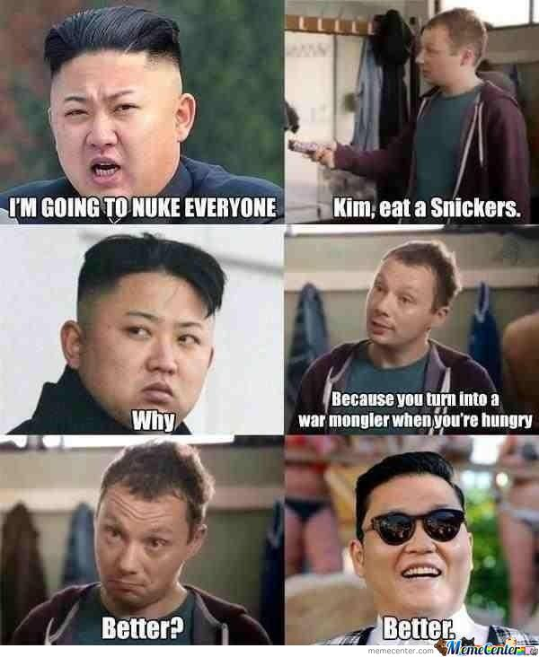 Hmm, Snickers Is Our Savior!