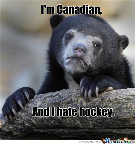 Hockey Sucks.