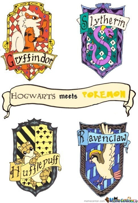 Hogwarts Meets Pokemon