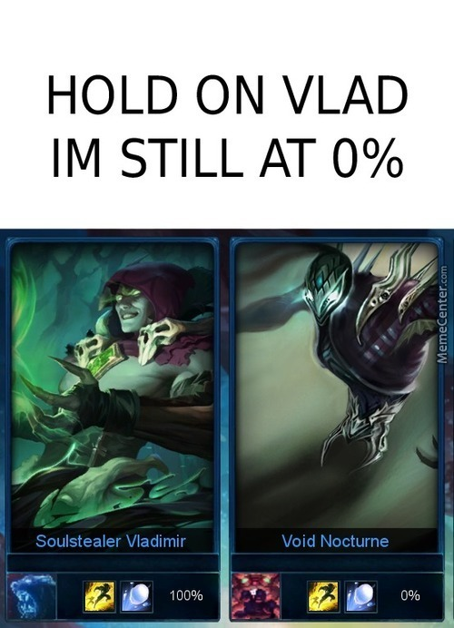 Hold On Vlad Im Still At 0%