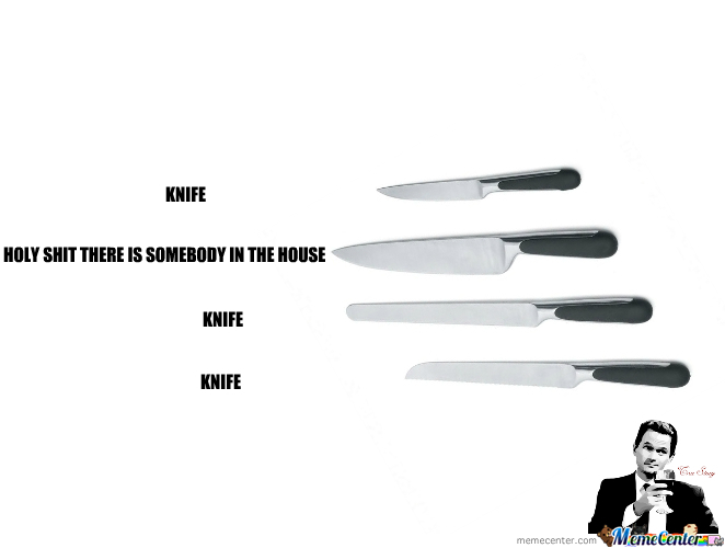 Home Security? Why Not Kitchen Knife?