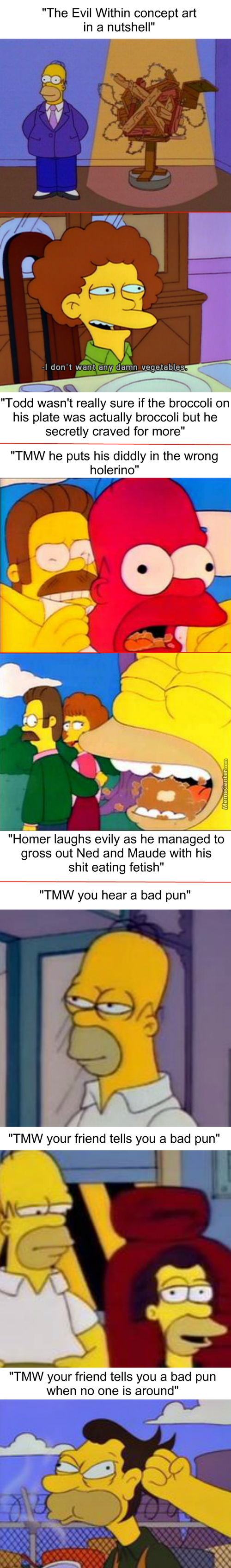 Homer Simpson And The Dank Memes