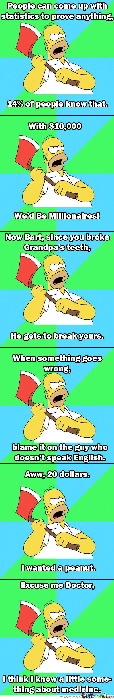 Homer You Funny Guy