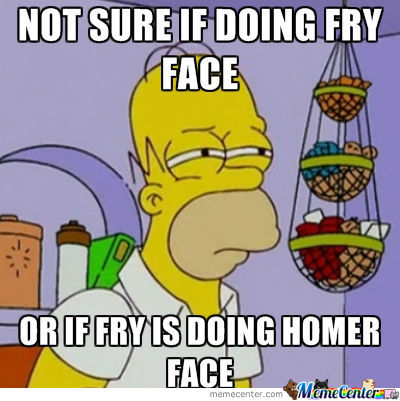 Homers Fry Impression