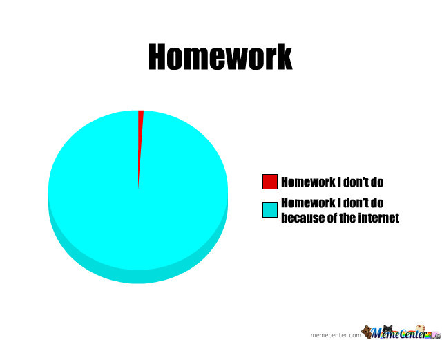 i don t do homework