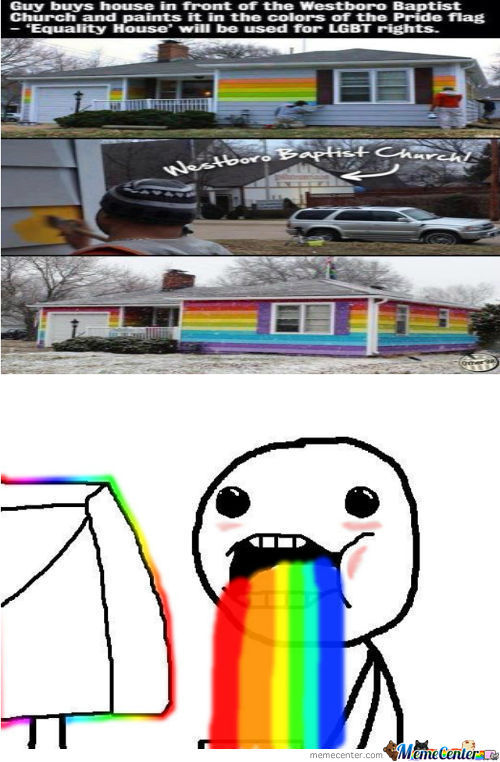 Homosexuality Is Rainbow-Tastic