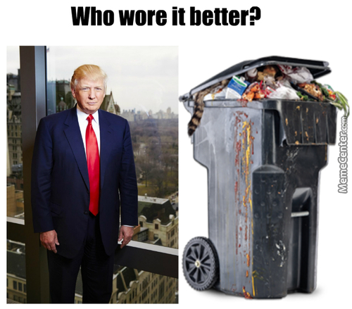 Honestly I Could Barely Tell The Difference, But It Think I Have To Give It To Trump For Playing The Part Best