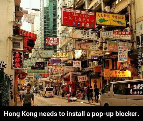 Hong Kong Needs A Popup Blocker