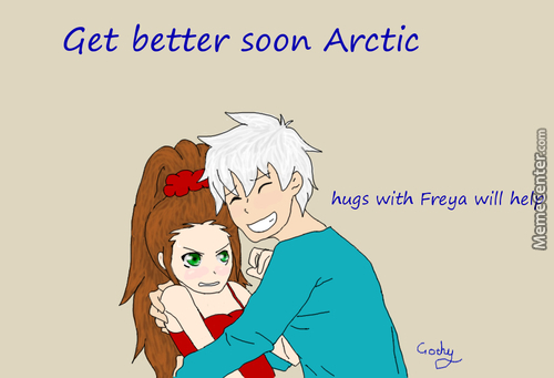 Hoping Arctic Recovers Soon (Sorry For A Not So Great Drawing I Sort Of Rushed It =3)
