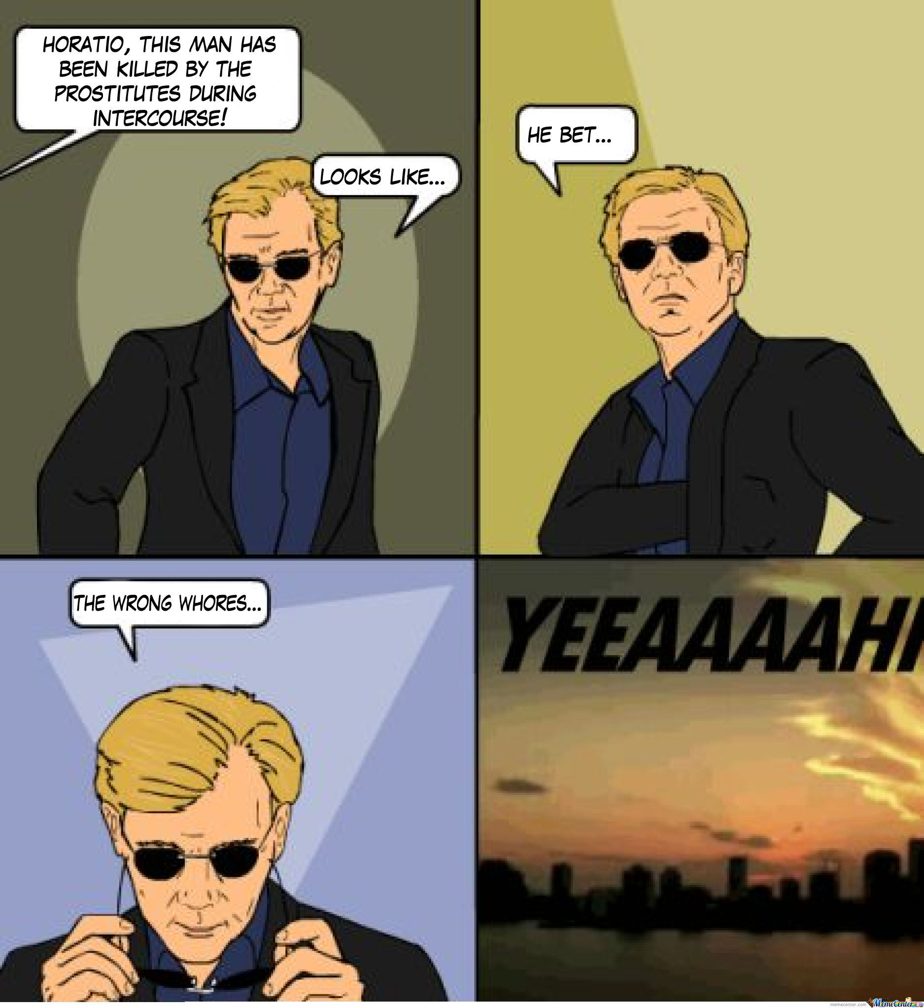 Horatio Strikes Again...