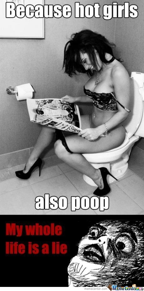 Hot Girls Poop