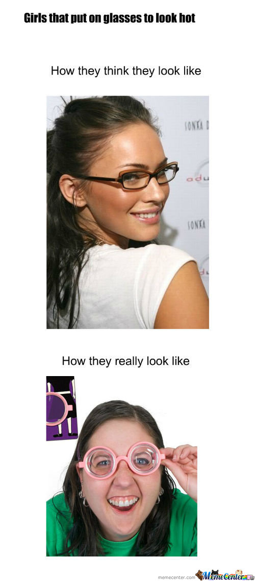 Funny Meme Girl With Glasses : I really love girls with glasses memes best collection of
