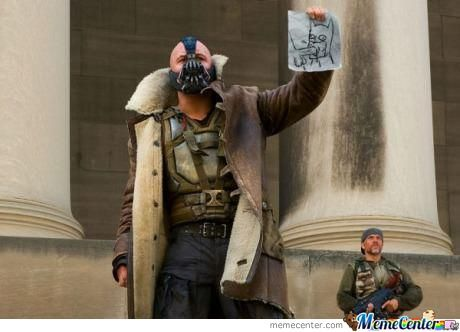How Bane Thinks Of Batman