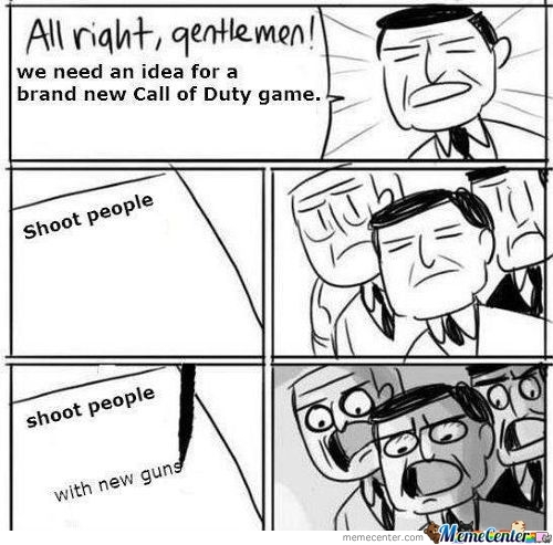 How Cod Games Are Made.
