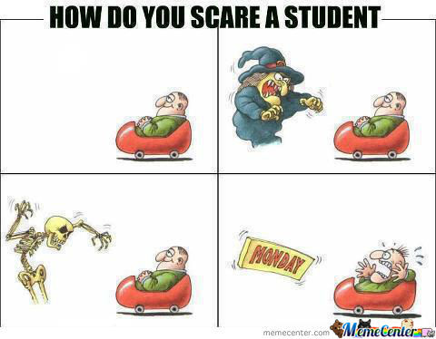 How Do You Scare A Student