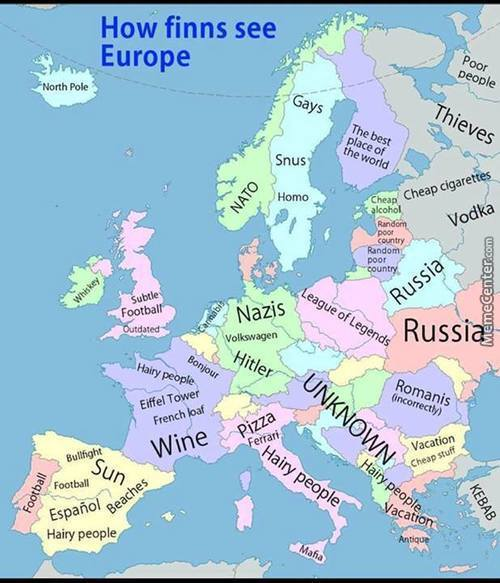 How Finnish See Europe