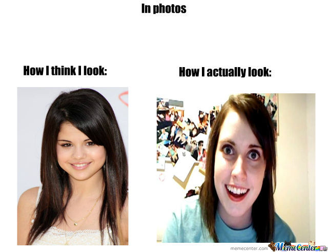 How I Actually Look Like In Photos :/