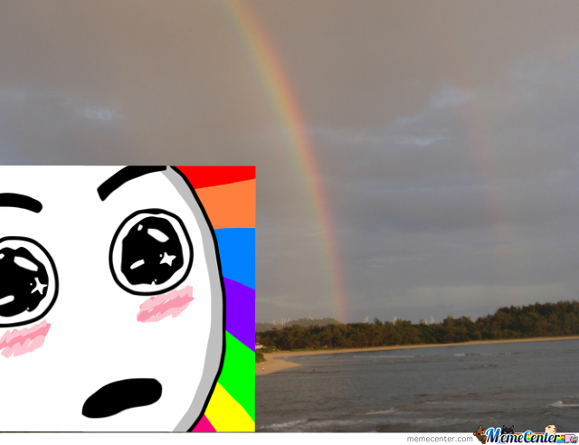 How I Feel When I See A Rainbow