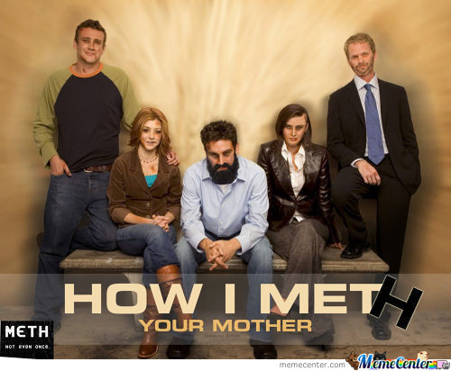 """How I Met""""h"""" Your Mother."""