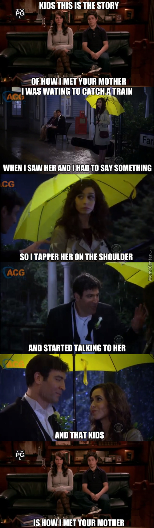 How I Met Your Mother How It Should Have Ended, There I Just Saved You 9 Seasons