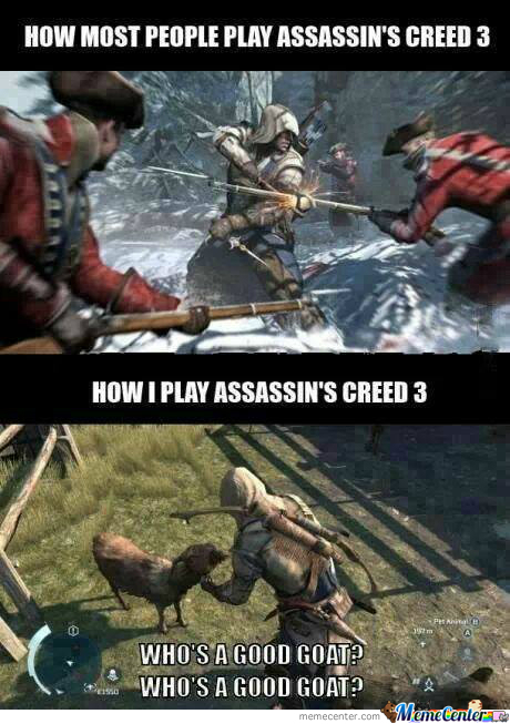 How I Play Assassin's Creed 3