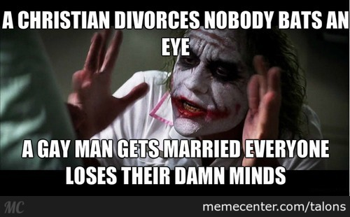 """How It Feels When """"christians"""" Talk About Gay Marriage"""